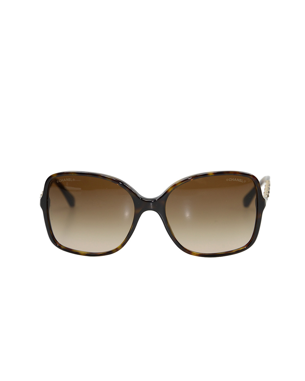 法国 CHANEL 香奈儿 啡色女士太阳眼镜 OCH5210QC714S5
