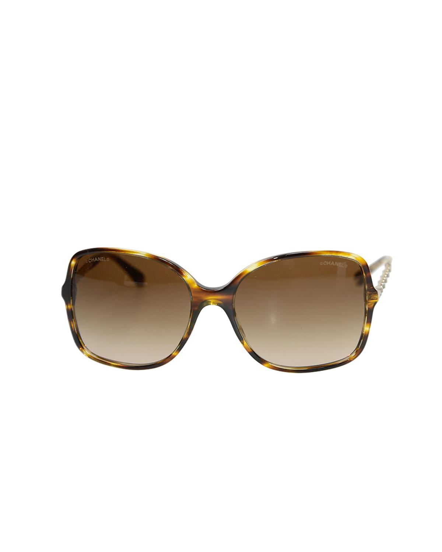 法国 CHANEL 香奈儿 啡色女士太阳眼镜 OCH5210Q1498S5