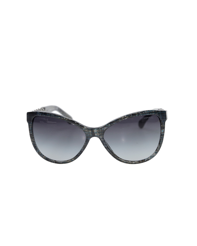 法国 CHANEL 香奈儿 灰色女士太阳眼镜 OCH53261527S6