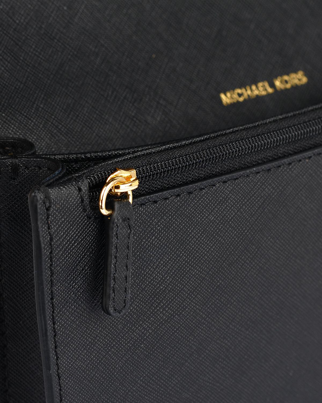 美国 Michael Kors迈克高仕 黑色牛皮女士拉链单肩斜跨方包 32T6GDD-C3L-BLACK