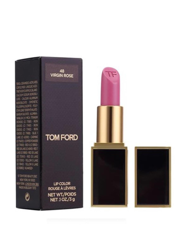 美国 Tom Ford 汤姆福特 黑管口红 烈焰幻魅唇膏 48#VIRGIN ROSE 3g