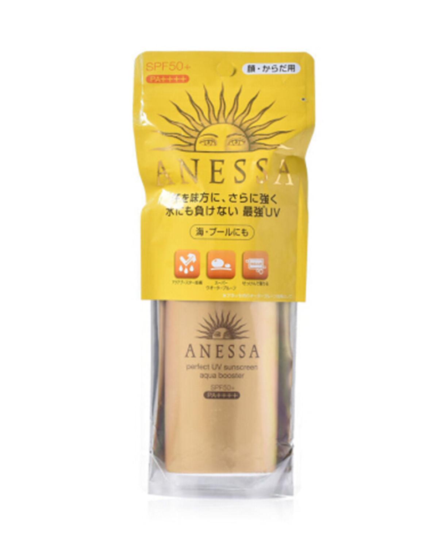 日本 Shiseido 资生堂 Anessa安耐晒小金瓶防晒霜 90ml