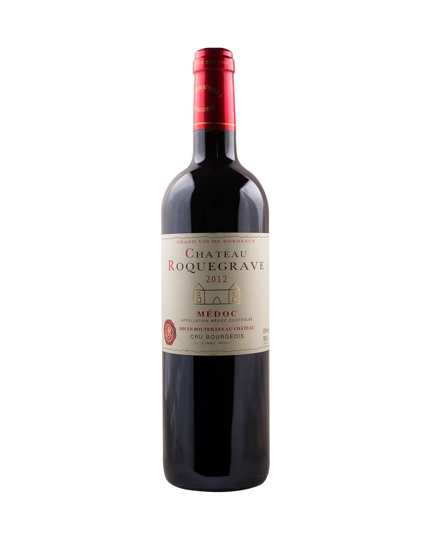 法国原装进口 梅多克产区 洛克格拉芙城堡2012红葡萄酒 750ml 12.5%vol. 中级庄AOC级别