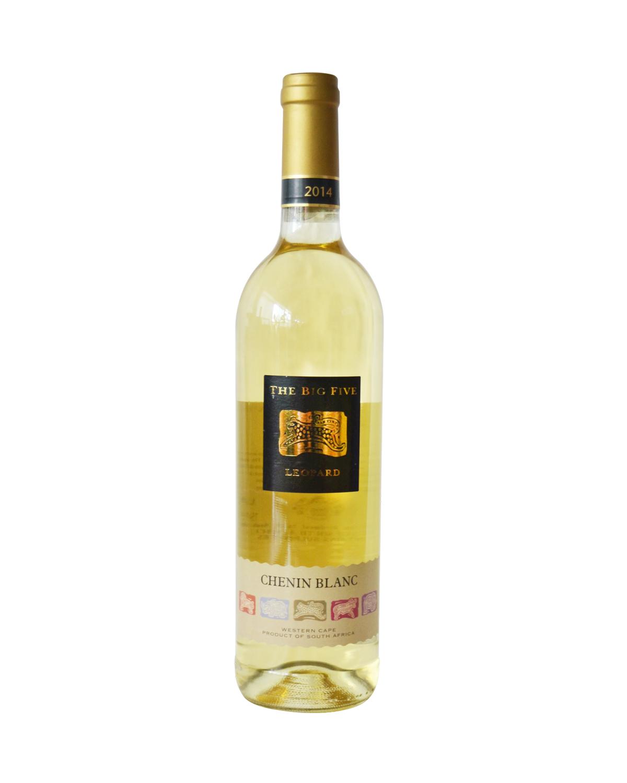 南非原装进口 西开普敦产区 五大神兽之猎豹精选白诗南2014干白葡萄酒 750ml 13%vol. 精选级 x2支