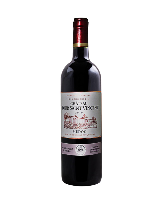 法国原装进口 梅多克产区 图萨维特城堡2011红葡萄酒 750ml 13.5%vol. 中级庄AOC级别