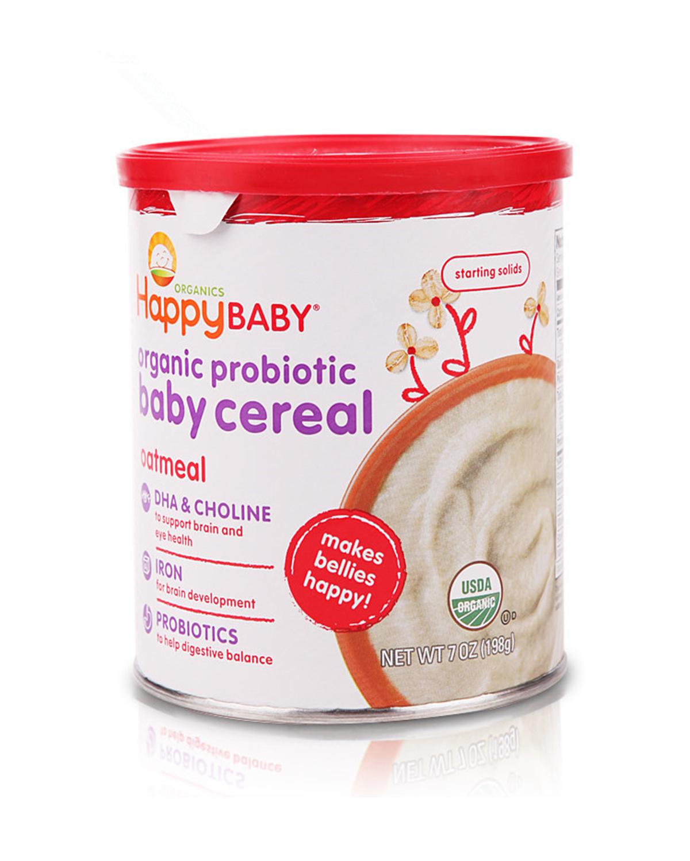 美国 Happy Baby 禧贝 有机2段燕麦米粉 198g 2罐装