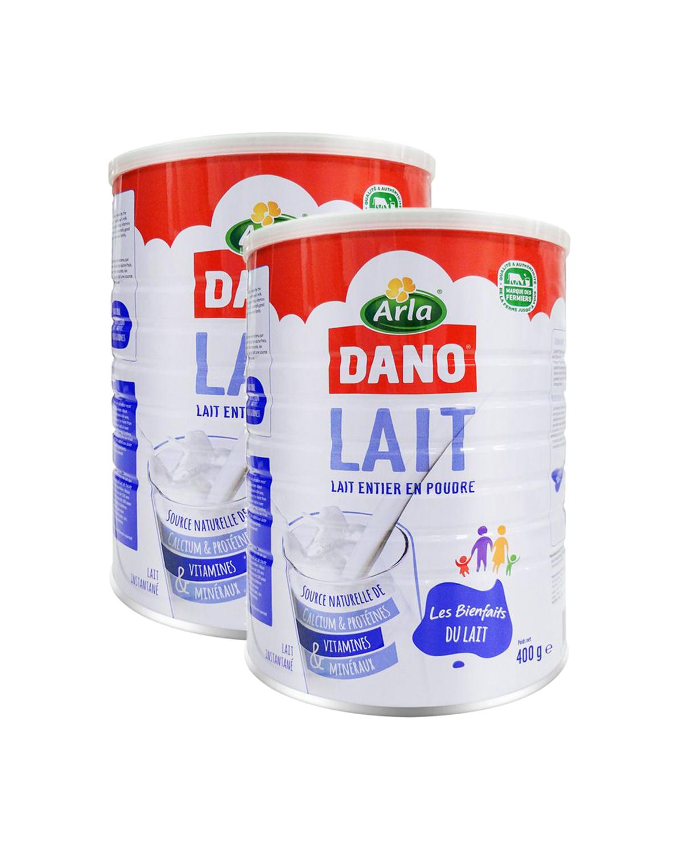 丹麦 Arla DANO 速溶全脂奶粉 400g 2罐装