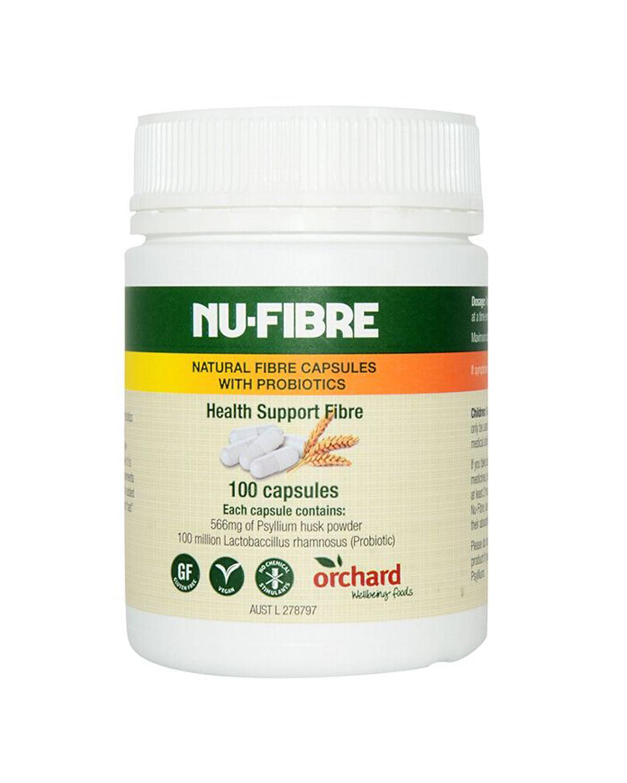 澳大利亚 NU-LAX 乐康膏 膳食纤维胶囊 100粒