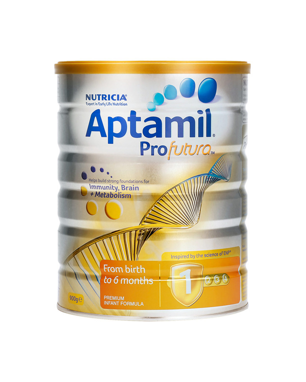新西兰 Aptamil 爱他美 白金版婴幼儿配方奶粉 1段(0-6个月)900g 2罐装