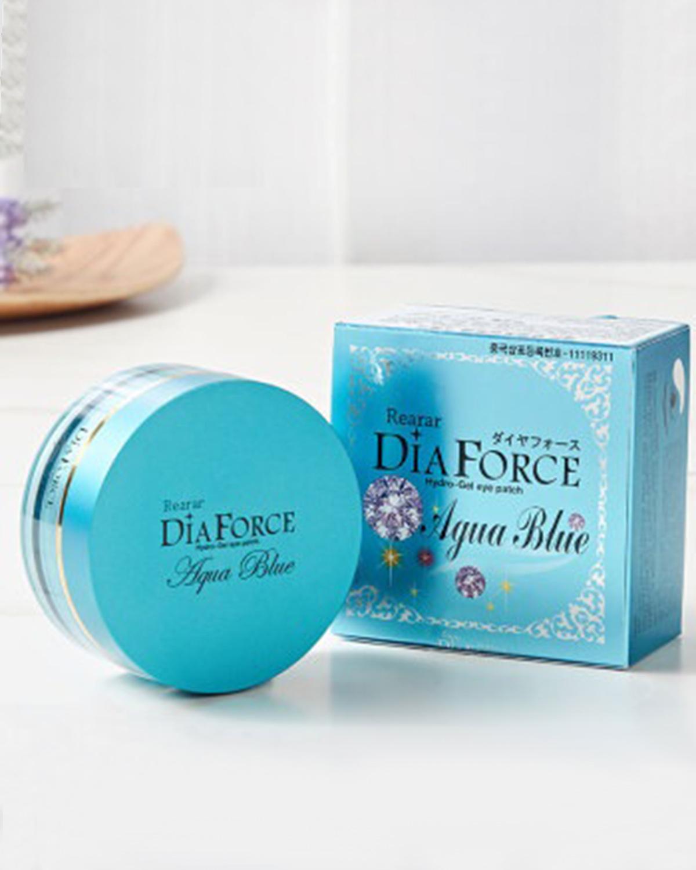 韩国原装进口 DIA FORCE 瑞拉 迪雅芙丝 贵妇水润眼膜 蓝宝石 1.5gx60片 舒缓干纹 保湿补水