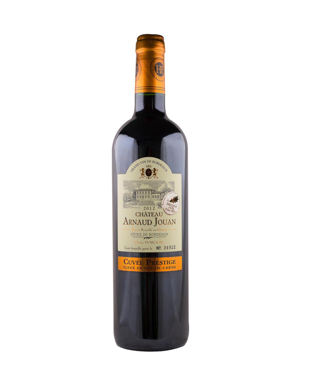 法国原装进口 布尔山丘产区 阿尔诺城堡2012红葡萄酒 750ml 13%vol. AOC级别