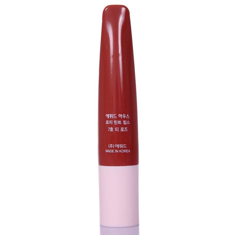 韩国 ETUDE HOUSE 伊蒂之屋 玫瑰花园气垫染色唇彩 7#茶色玫瑰 7g