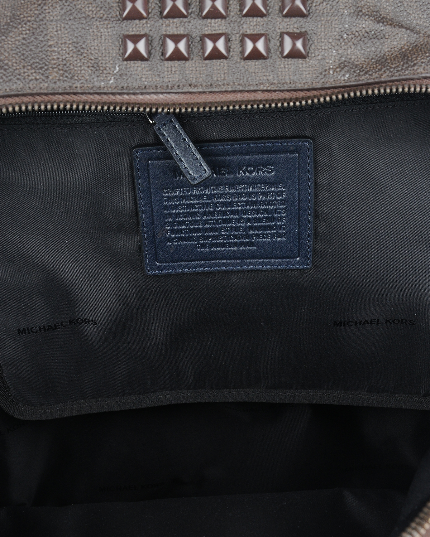 美国原装进口 Michael Kors 迈克高仕 棕色柳丁女士双肩包 WA14624A-BROWN