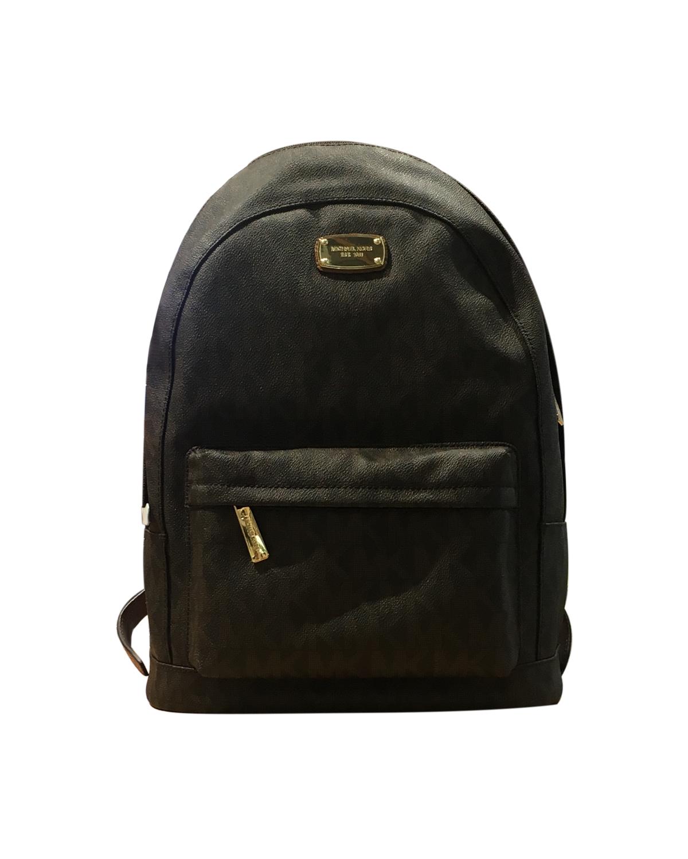 美国原装进口 Michael Kors 迈克高仕 棕色小牛皮女士双肩包 WA19242-BROWN
