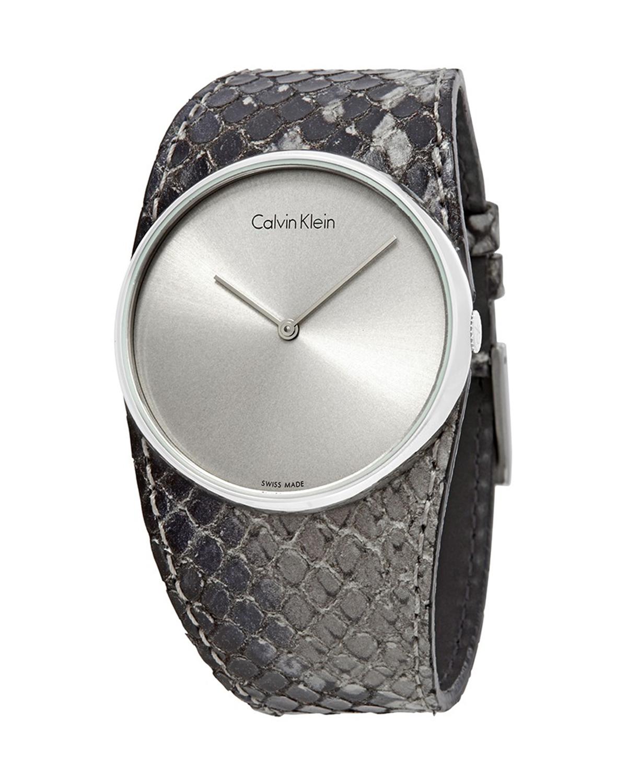 意大利原装进口 Calvin Klein 卡尔文克莱因 Spellbound系列 女士石英表 K5V231Q4