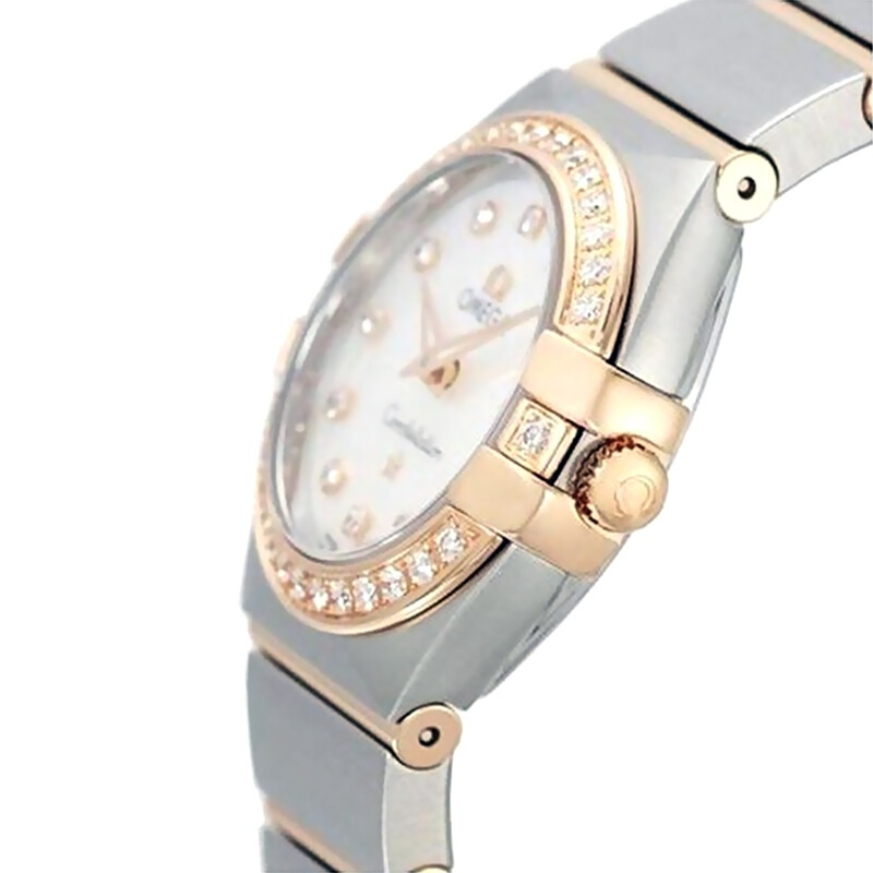 瑞士 OMEGA 欧米茄 星座系列优雅时尚石英女士手表 123.20.27.60.55.001