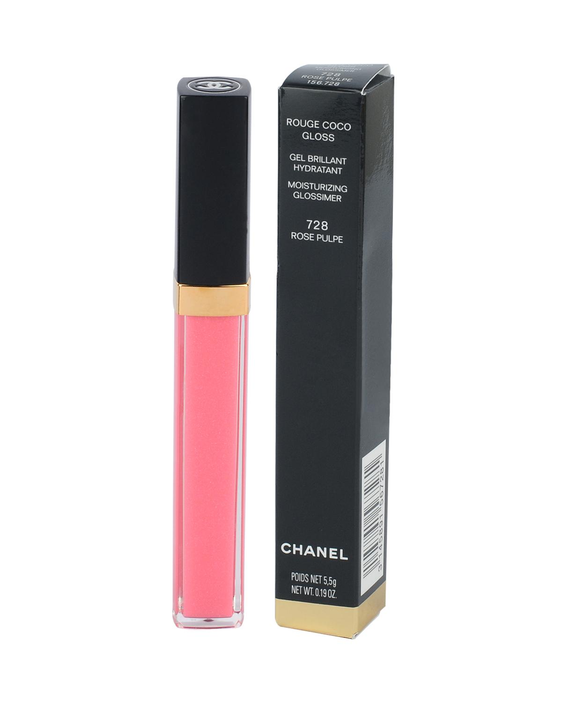 法国 Chanel 香奈儿 可可小姐晶亮唇蜜 5.5g 728#玫果色