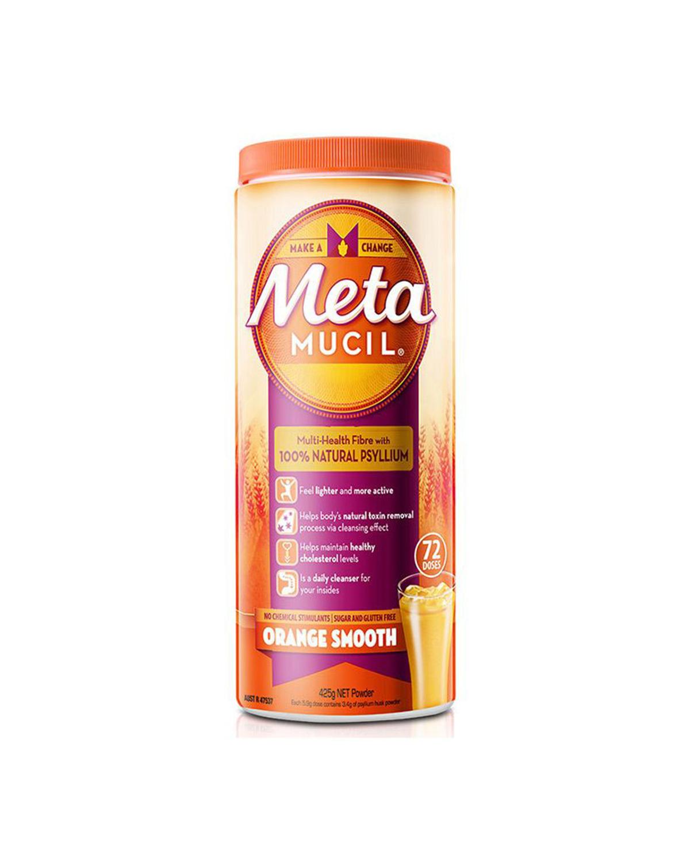 美国 Metamucil 美达施 膳食纤维粉香橙味 425g 两件装