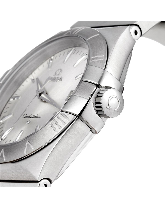 瑞士 Omega 欧米茄 星座系列 低调奢华复古时尚石英男表 123.10.35.60.02.001