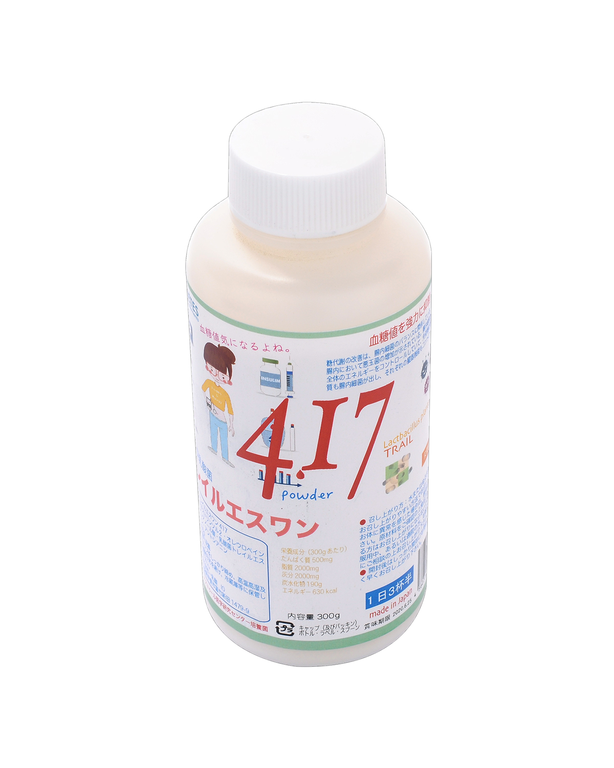 原装日本生产 活性型乳酸菌TRAIL-S1 No.417 300g