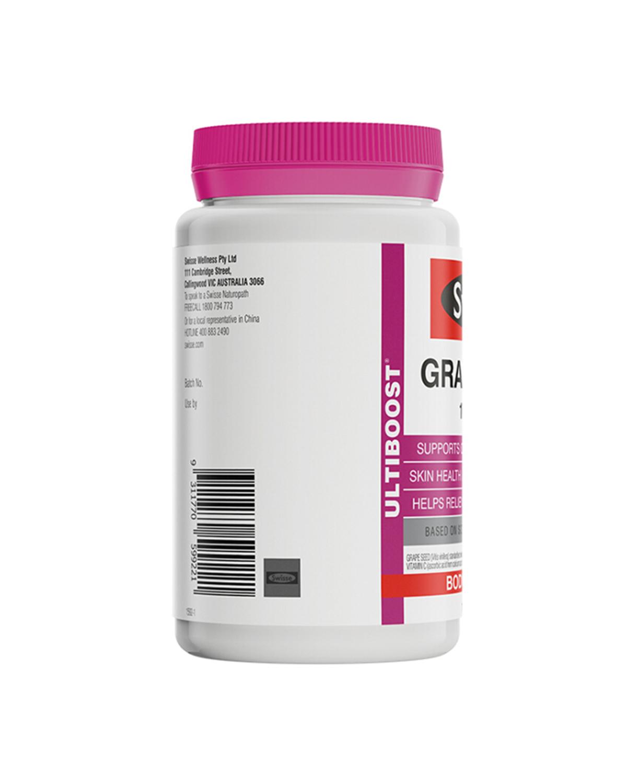 澳洲 Swisse 天然抗氧化葡萄籽精华 180粒 2罐装