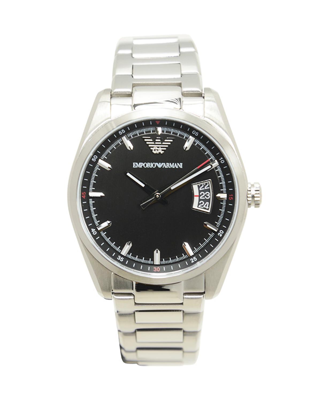 全新 ARMANI阿玛尼黑色表盘石英机芯男士手表 AR6019