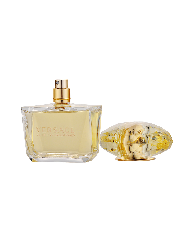 意大利 Versace 范思哲 黄晶香水套装:淡香水Edt.90ml+身体乳100ml+黑色小袋