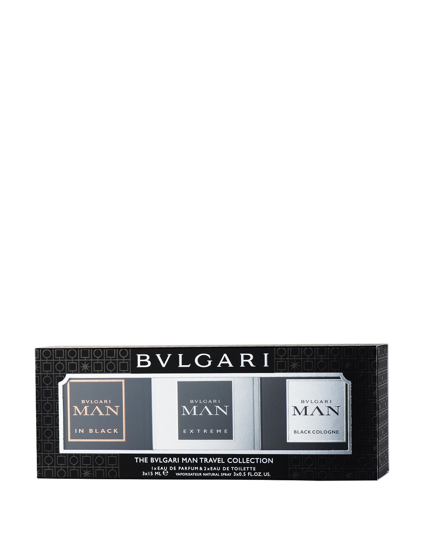 意大利 BVLGARI 宝格丽 宝格丽男士3件香水Edp.套装:非常当代绅士15ml+幽酷男士15ml+酷爽男士15ml