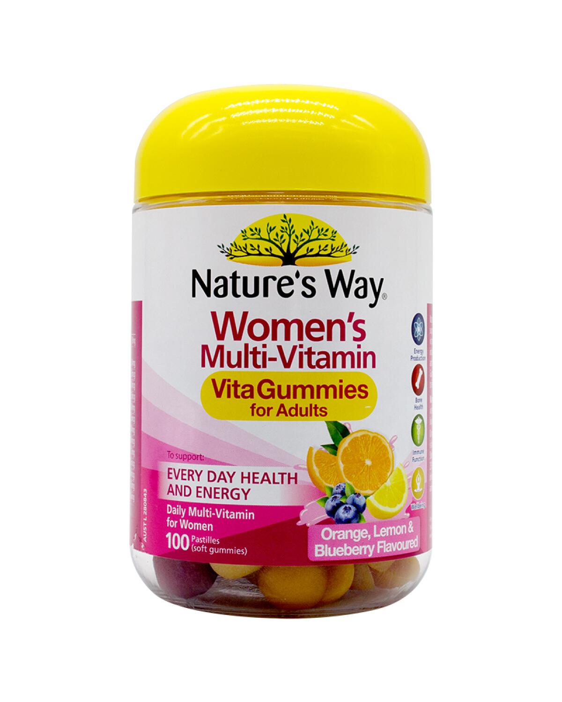 澳大利亚 Nature's Way 佳思敏 女性复合维生素软糖 100粒