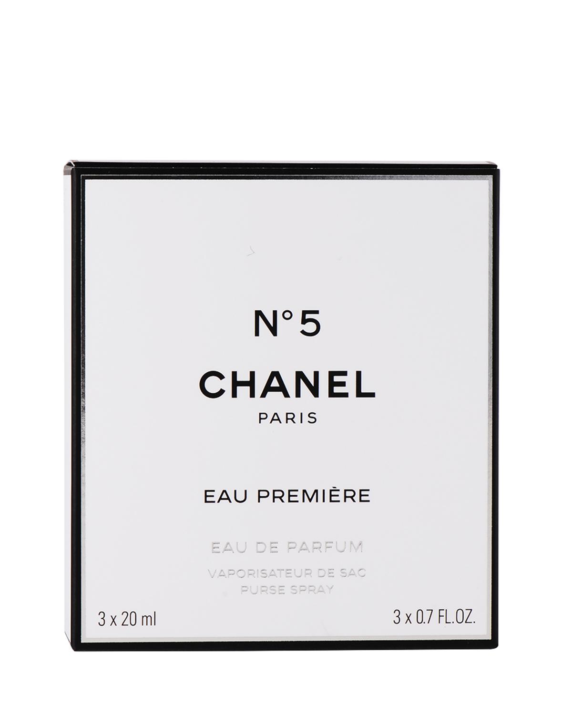 法国 CHANEL 香奈儿 5号女士低调奢华版Edp.20mlX3(补充装X2, 可补充装(连喷)X1)