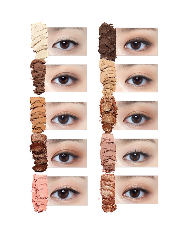 韩国 ETUDE HOUSE 伊蒂之屋 玩转色彩多色眼影盘 午后咖啡 10g