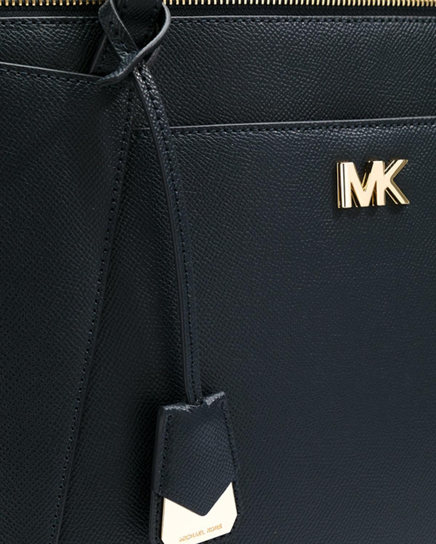 美国原装进口 Michael Kors 迈克高仕 黑色皮革女士手提单肩包 30S8GN2T2L BLACK