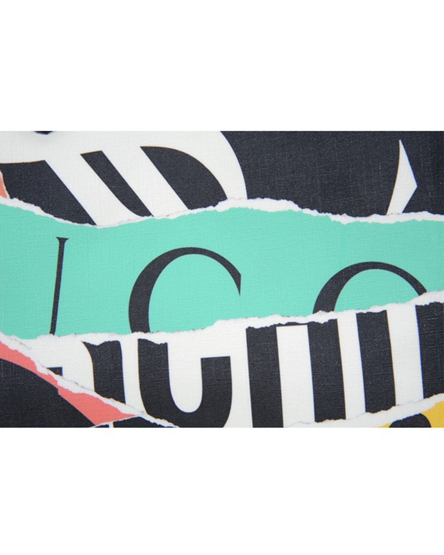 意大利 Moschino 莫斯奇诺 女士多彩印花手提单肩包 A7469-8203-2888