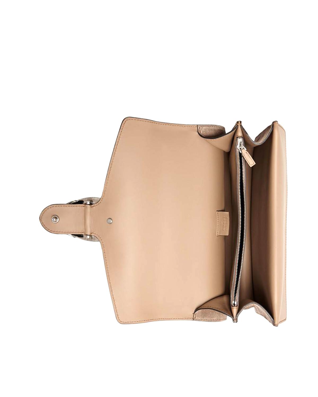 72f94df66924 意大利Gucci 古驰Dionysus系列女士棕色皮革链条单肩包酒神包400249 CEMMN ...