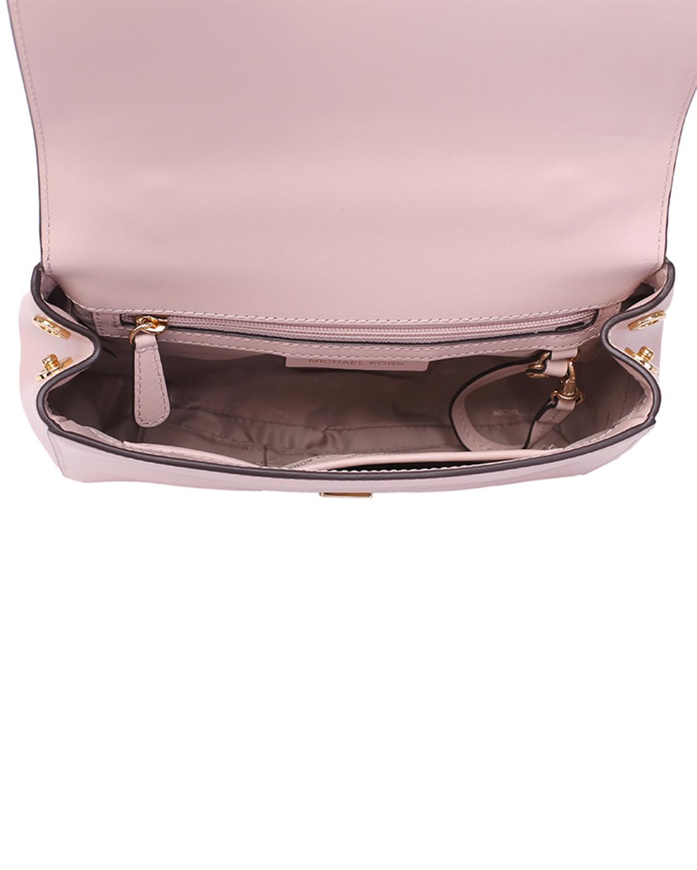 美国 Michael Kors 迈克高仕 MOTT系列 粉色皮革女士手提单肩包 30S8GOXS2L-SOFT PINK