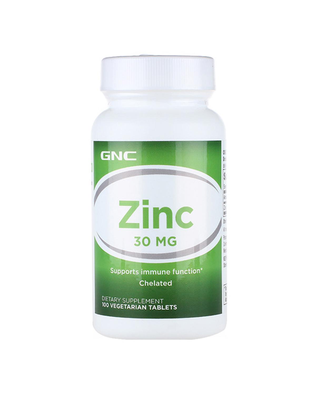 美国 GNC 健安喜葡萄糖酸锌片30mg 100片