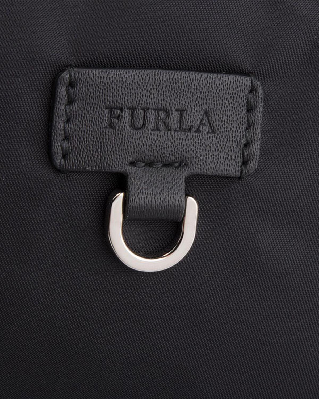 意大利原装进口 FURLA 芙拉 FURLA FAVOLA系列 黑色女士双肩包 978479 BTI7 00Z ONYX