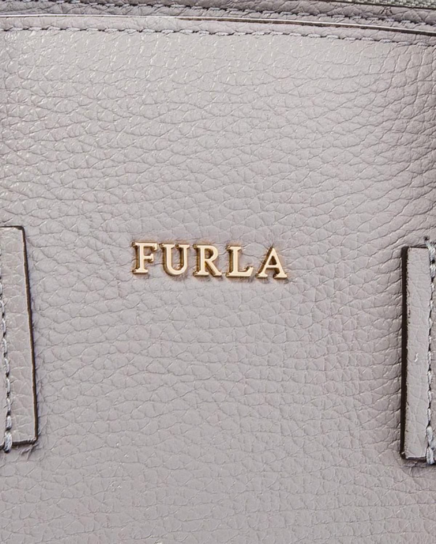 意大利原装进口 FURLA 芙拉 FURLA ALBA 灰色女士手提单肩斜跨包 984352 BTI4 00Z ONICE e