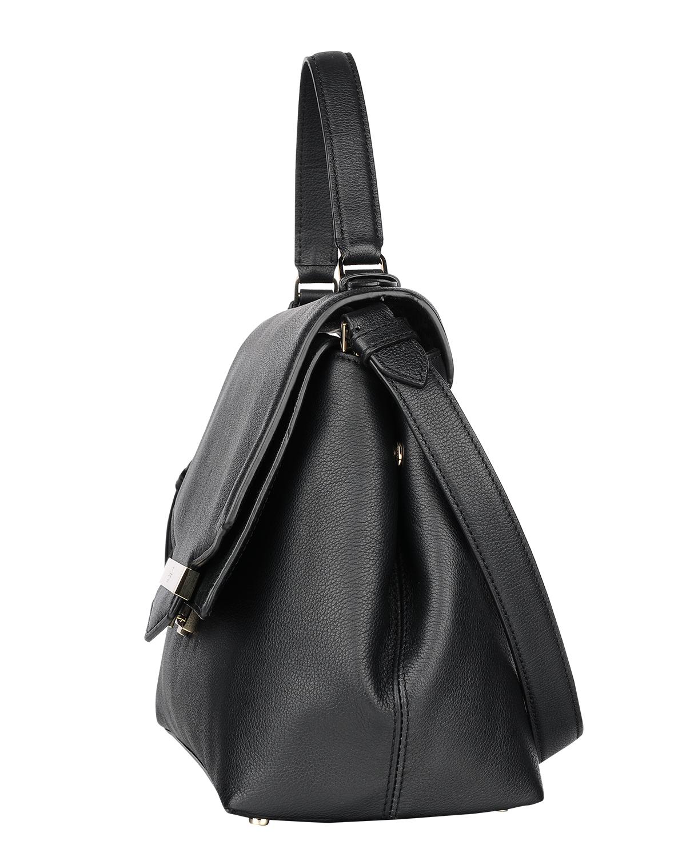 美国原装进口 Kate Spade 凯特丝蓓 yalena carmel court 黑色皮革女士手提单肩包 WKRU4761-001