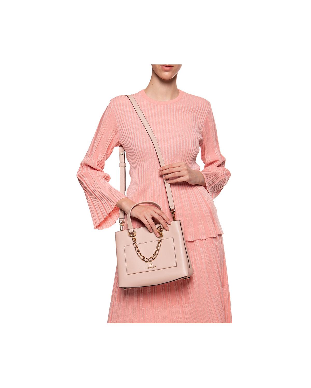 美国 Michael Kors 迈克高仕 Cece系列小号浅粉色女士手提单肩包 30S0G0EM0L 187