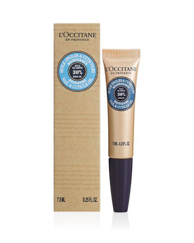 法国 L'occitane 欧舒丹 乳木果滋润指甲护甲油 7.5ml