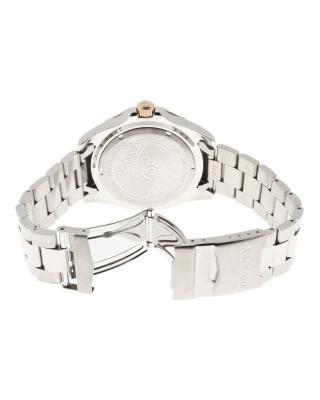 Invicta 因维克塔Pro Diver系列不锈钢圆形银色瑞士石英机芯男士手表
