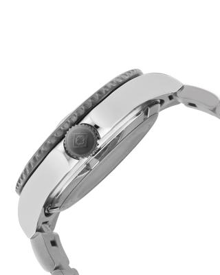 Invicta 因维克塔Pro Diver系列不锈钢圆形银色机械机芯男士手表 INVICTA-10498