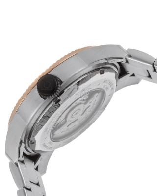 Invicta 因维克塔Pro Diver系列不锈钢圆形银色和玫瑰金机械机芯男士手表 INVICTA-14121