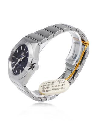 瑞士 Omega 欧米茄星座系列Cal.8500精钢日期显示自动机械银色男士手表 123.10.38.21.01.002