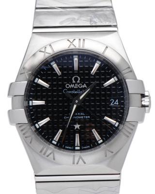 瑞士 Omega 欧米茄 星座系列 自动机械Cal.2500精钢日期显示银色男士手表 123.10.35.20.01.002