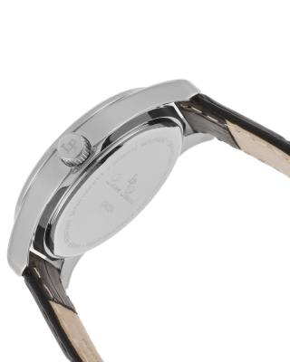 Lucien Piccard 卢森皮卡尔Crosa系列不锈钢圆形黑色石英机芯女士手表 LP-12721-02