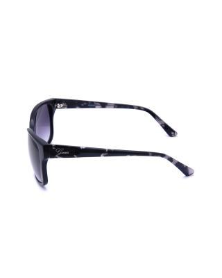 美式时尚 Guess 盖尔斯 复古款女士猫眼太阳眼镜 GU7331-BLK35