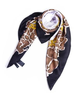 意大利高端定制Versace 范思哲多色真丝时尚个性人气爆款女士丝巾