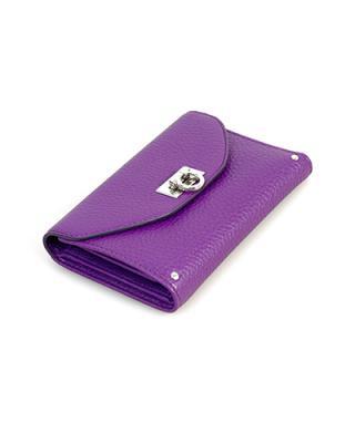 【精致可爱,潮女必备】意大利 Ferragamo 菲拉格慕 优雅紫罗兰时尚名媛必备真皮手拿包